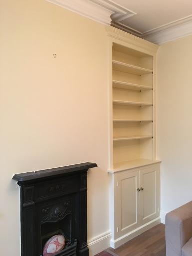 Southsea-Groundfloor-redec-study-bookshelf-fireplace