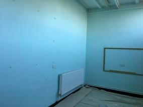 East-Witterings-Community-Primary-School-Classroom-walls-before