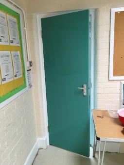 East-Witterings-Community-Primary-School-Kitchen-door-after-2