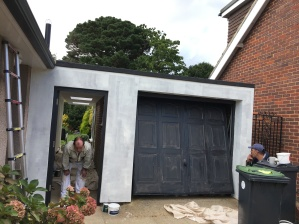 emsowrth-exterior-garage-during